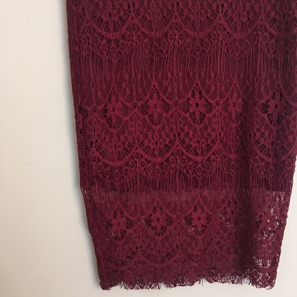 Rue21 Dresses & Skirts - Lacey pencil skirt runs very small